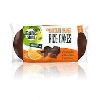 Naturens Store - mørk Choc Orange ris kage 100g