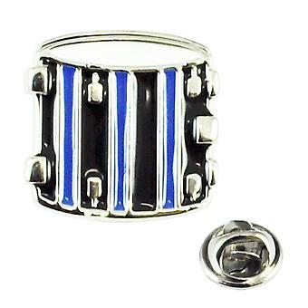 Ties Planet Drum Musical Instrument Lapel Pin Badge