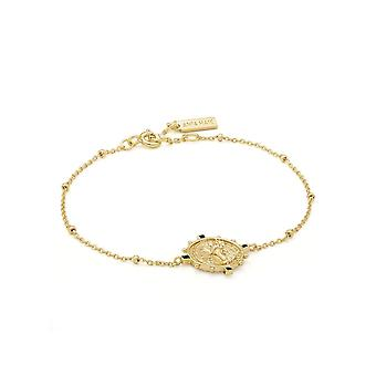 Ania Haie Gold Digger Shiny Gold Victory Goddess Bracelet B020-04G