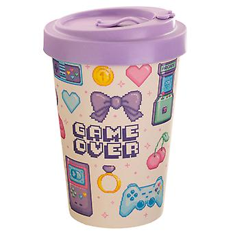 Bamboo Composite Retro Gaming Next Gen Game Over Travel Mug X 1 Pack