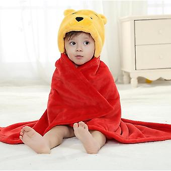 Winnie Bear Animal Cosplay Hooded, Baby Prosop de baie