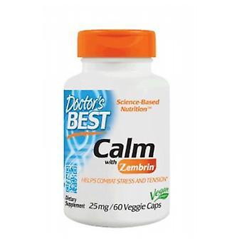 Lääkärit paras rauhallinen Zembrin, 25 mg, 60 Veg Caps