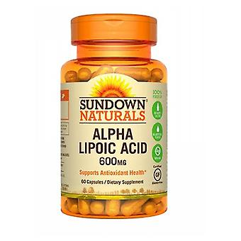 Sundown Naturals Super Alpha Lipoic Acid, 600 mg, 12 X 60 Caps