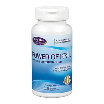 Life-Flo Power Of Krill, 60 Softgels