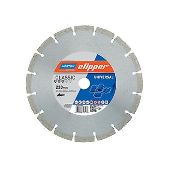 Clipper Classic Universal Blue Diamond Blade 230 x 22.23mm 70184626810