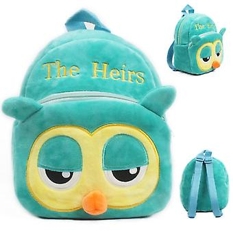 Cartoon Kids Plush Backpack Toy, School's- Baby Student Bags