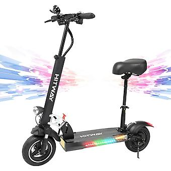 "Electric Scooter Folding for Adults, 800W E-Scooter, Maximum Speed 45km/h Battery 10Ah, 3 Speed Modes 10"" Off-Road Tires, with Intelligent LCD Display, Dual Brake"