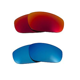Polarized Replacement Lenses for Oakley Fives 2009 Sunglasses Anti-Scratch Anti-Glare UV400 by SeekOptics