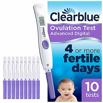 Clearblue Advanced Digital Ovulation Test con doppio indicatore ormonale, 10 test