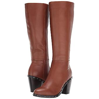 Fergie Womens F6036L3 Leather Closed Toe Knee High Fashion Boots