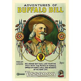 Adventures Of Buffalo Bill Wild West Movie Poster Print (27 x 40)
