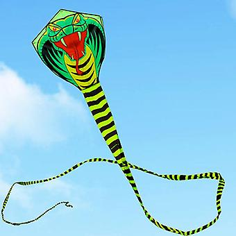 High-quality, Large Snake Design, Cobra Kite With Handle-outdoor For Adults