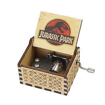 Spirited Away Queen Bohemian Rhapsody Hand Cranked Wood Music Box
