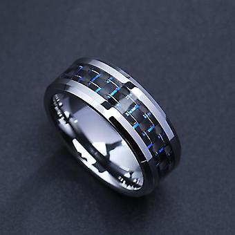 Titanium Steel Carbon Fiber Rings Fashions Jewelry