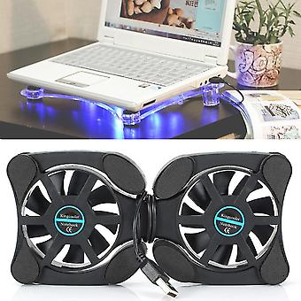 Collapsible Fan Cooler Cooling Pad Portable Small Fan Laptop Usb Radiator Heat