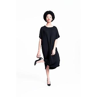 Casey Oversized Pleat Dress