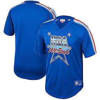 Mitchell & Ness All Star NBA Mesh Team DNA Sublimaatio T-paita ASGROYA191