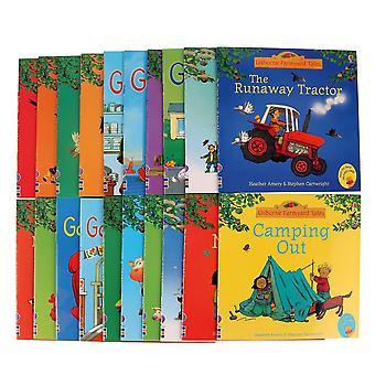 20pcs Usborne Farmyard - English Tales Series Picture Books