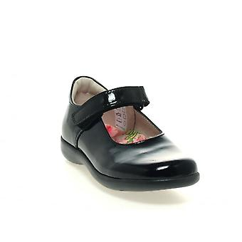 PETASIL Mary Jane School Schoen Bea Zwart Patent