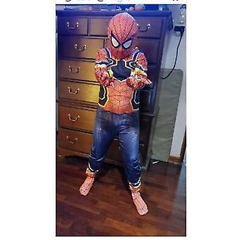 Abito costume di ferro Halloween Uomini Adulti Bambini Cosplay Abbigliamento