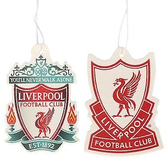 Liverpool FC Twin Pack Air Freshener (Pack of 2)