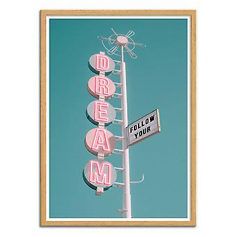 Art-Poster - Podążaj za swoim marzeniem - Jonas Loose