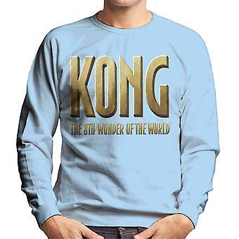 King Kong La 8a Maravilla del Mundo Logo Hombres's Sudadera