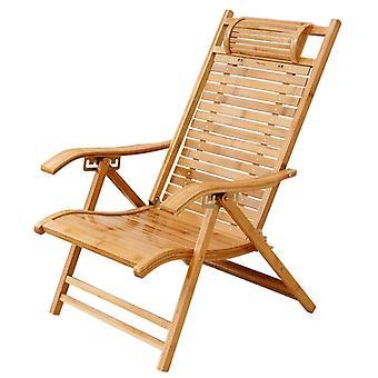 Modern Foldadble Bamboo Garden stol