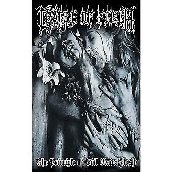 Cradle Of Filth Poster Principle Of Evil Made Flesh 70cm x 106cm Textile