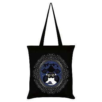 Grindstore Vampir Fledermaus Einkaufstasche