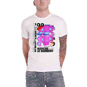 Foo Fighters T Shirt Mam Tilt new Official Mens White