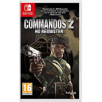 Commandos 2 HD Remaster Nintendo Switch spill