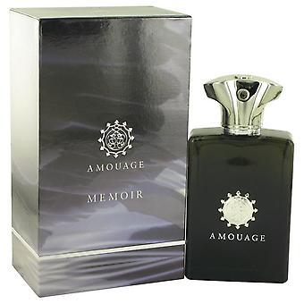 Amouage Memoir Eau De Parfum Spray By Amouage 3.4 oz Eau De Parfum Spray