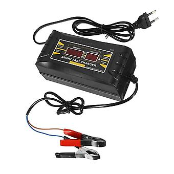 Automobile lead-acid battery intelligent quick charger with display