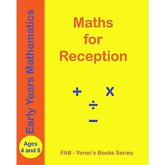 MATHS for RECEPTION - Ages 4 and 5 by Firew Ab - 9781388968281 Book