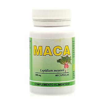 Organic maca 60 capsules of 500mg