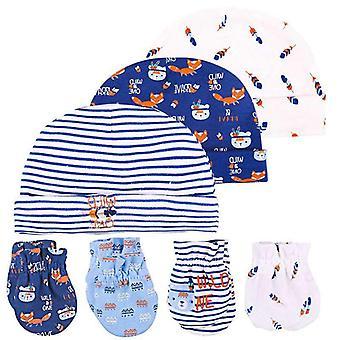 Detská čiapka a palčiaky Čiapka, Ponožky Pohodlný klobúk & Rukavice Bavlna, Detské doplnky