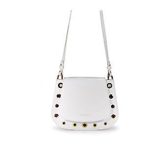 L'autre Chose White Patent Handbag
