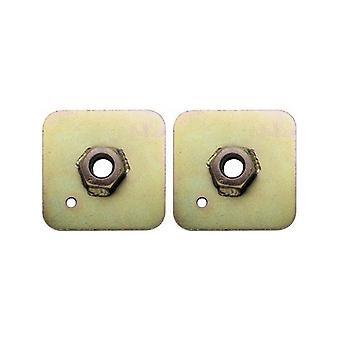 "Plate for Eyebolts Sabelt Eye-Bolt 65 x 65 x 3 mm 7/16"""