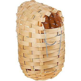 Trixie Exotic Oval Bamboo Wild Bird Nest