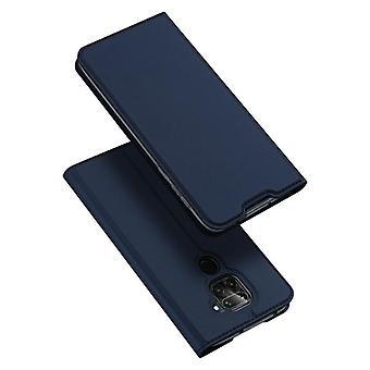 Dla xiaomi 10t lite przypadku odporne anty spadek klapka klapka pokrywa niebieski