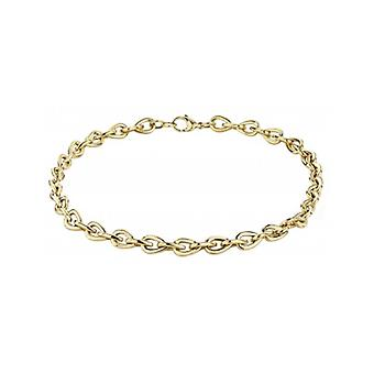 Traveller Necklace Steel Gold Plated 49 Cm - 181009 - 875