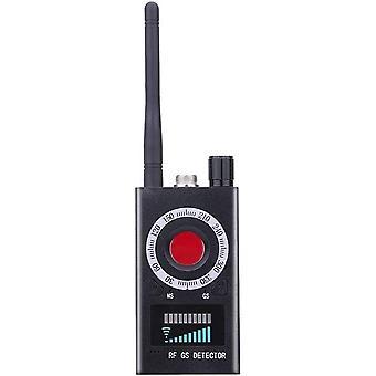 Anti Spy RF Wireless Signal Bug Detector Signal Wireless Bug Detector Signal For Lens Hidden Camera Listening Lens Device Finder Radar Radio Scanner (black)