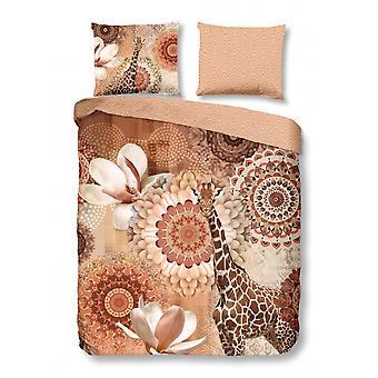 rivkah duvet cover 200 x 220 cm cotton/satin copper