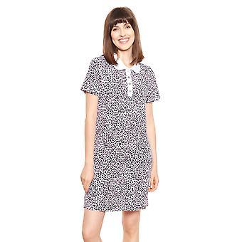 Féraud Casual Chic 3211054-15648 Women's Modern Leo Cotton Nightdress