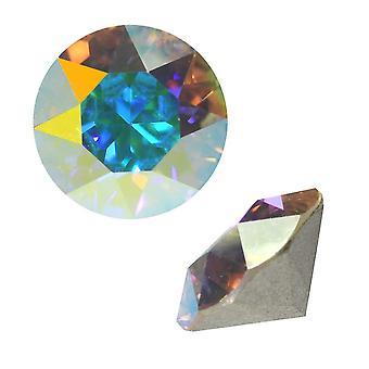 Swarovski Kristall, #1088 Xirius Rundstein Chatons ss29, 12 Stück, Kristall AB F
