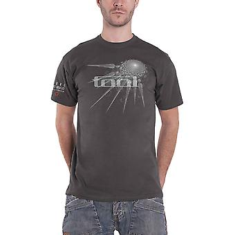Tool T Shirt Spectre Spike Band Logo new Official Mens Charcoal Grey