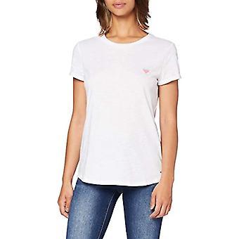 Tom Tailor Print T-Shirt, 20000/White, S Woman