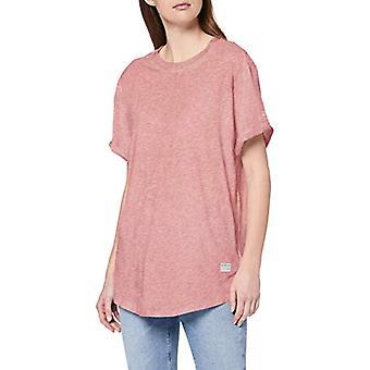 G-STAR RAW Frans Lös T-Shirt, Dk Old Rose Htr 4107-A037, XX-Small Woman