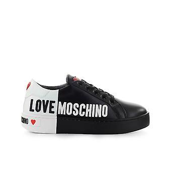 Love Moschino Black White Logo Sneaker